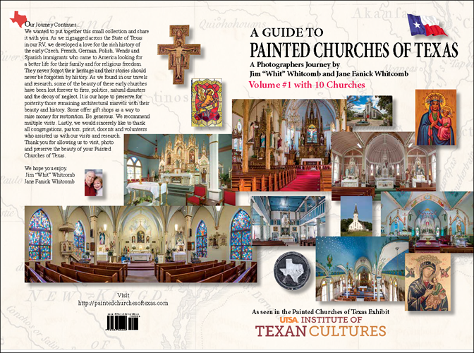 Cover of Guide Book to Painted Churches of Texas