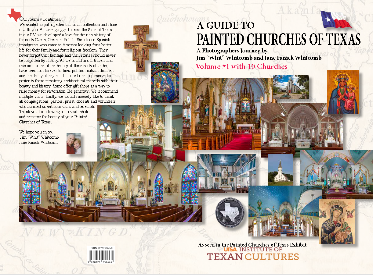 Cover Painted Churches of Texas
